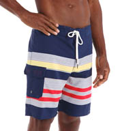 Sperry Top-Sider Sea Port Stripe 4-Way Stretch Boardshort SM5DF19
