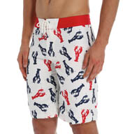 Sperry Top-Sider Maine Lobster Microfiber Boardshort SM5DG19