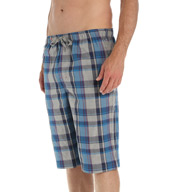 Tommy Bahama Heather Plaid Woven Loungewear Jam 2131013