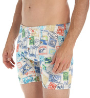 Tommy Bahama Passport Stamped Graphic Knit Boxer Brief 217908