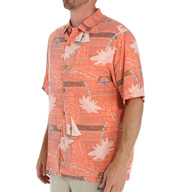 Tommy Bahama Vintage Voyage Silk Shirt T310414