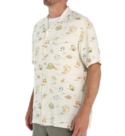 Tommy Bahama Sunny and Shade Silk Isla Ridge Bungalow Shirt T311824