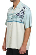 Tommy Bahama Vintage Tides Silk Camp Shirt T35288