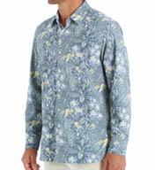 Tommy Bahama Flora Bora Long Sleeve Silk Shirt T37810