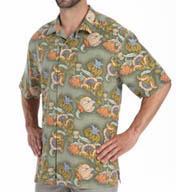 Tommy Bahama Hanauma Bay Floral Silk Shirt T37987