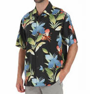 Tommy Bahama New Print on the Block Silk Shirt T37990