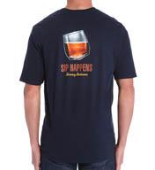 Tommy Bahama Sip Happens Short Sleeve Cotton Tee TR211281