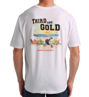 Tommy Bahama Third and Gold Cotton Short Sleeve Tee TR212038