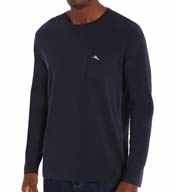 Tommy Bahama Long Sleeve Bali Sky Jersey Crew Shirt TR27646