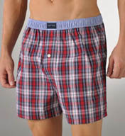 Tommy Hilfiger Walter Tartan Plaid Woven Boxer 09T0011