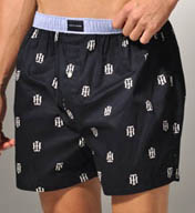 Tommy Hilfiger TH Logo Basic 100% Cotton Woven Boxer 09T0014