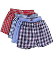 Tommy Hilfiger Woven Boxers - 4 Pack 09T0290