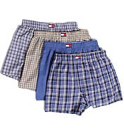 Tommy Hilfiger Woven Boxers - 4 Pack 09t0293