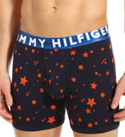 Tommy Hilfiger Navy Stars Single Boxer Brief 09T1286