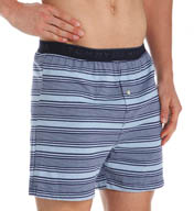 Tommy Hilfiger Yarn Dye Denim Stripe Knit Boxer 09T1997