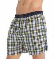 Tommy Hilfiger Plaid Woven Boxer 09t2005
