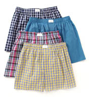 Tommy Hilfiger Woven Boxer Assortment - 4 Pack 09T2047