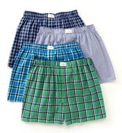 Tommy Hilfiger Woven Boxer Assortment - 4 Pack 09T2057