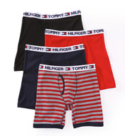 Tommy Hilfiger Fashion 100% Cotton Boxer Briefs - 4 Pack 09T249