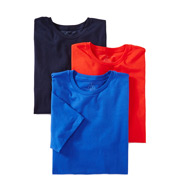 Tommy Hilfiger Basic 100% Cotton Crew - 3 Pack 09TCR01
