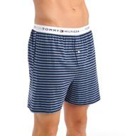 Tommy Hilfiger 100% Cotton Knit Boxer - 3 Pack 09TK012