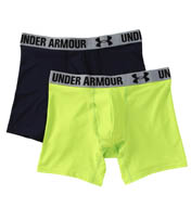"Under Armour HeatGear 6"" Performance Boxerjock - 2 Pack 1238137"