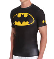 Under Armour Batman Alter Ego Short Sleeve Compression Shirt 1244399B