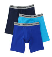 "Under Armour Charged Cotton Stretch 9"" Boxer Jock - 3 Pack 1252378"