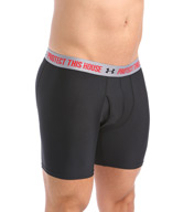 "Under Armour The Original 6"" Boxer Jock Verbiage Waistband 1257532"