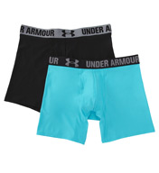 "Under Armour HeatGear 6"" Boxer Jock - 2 Pack 1260300"