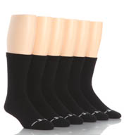 Under Armour UA Charged Cotton Performance Crew Socks- 6 Pack UA3879
