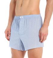 Zimmerli Jacquard Seersucker Cotton Woven Boxer 4625751