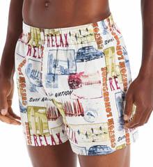 Tommy Bahama Sleepwear Naples Longboards Woven Boxer 217800