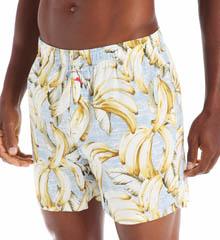 Tommy Bahama Sleepwear Plantain Paradise Woven Boxer 217802