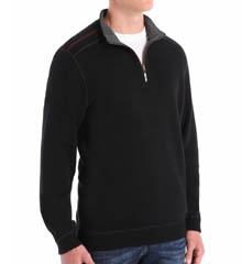 Tommy Bahama New Flip Side Pro Reversible Half Zip T27674