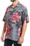 Tommy Bahama Half Pipe Holiday Silk Camp Shirt T35266