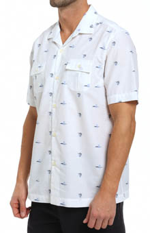 Tommy Bahama Marlin Mixer Jacquard Camp Shirt T35351