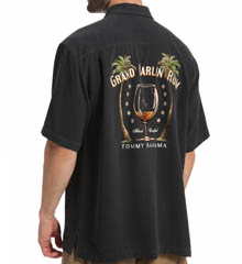 Tommy Bahama Grand Marlin Rum Woven Shirt T37258