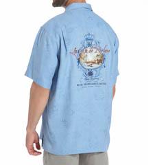 Tommy Bahama La Costa De Relaxo Silk Shirt T38150