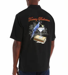 Tommy Bahama Tequila Mocking Parrot Silk Camp Shirt T39736