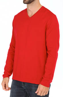 Tommy Bahama Island Deluxe V-Neck Cashmere Blend Sweater T40056