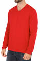 Island Deluxe V-Neck Cashmere Blend Sweater Image