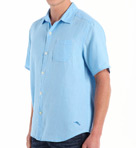 Sea Glass Breezer Short Sleeve Linen Shirt Image