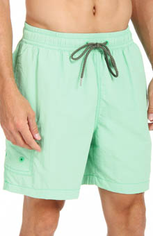 Tommy Bahama Happy Go Cargo Elastic Waist Swim Short TR924
