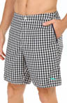 The Saint Tropez Gingham Style Boardshort Image