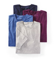 Crew Neck T-Shirt - 4 Pack Image