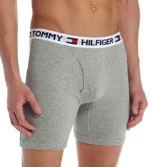 Tommy Hilfiger Basic Logo Boxer Briefs - 4 Pack 09T0525
