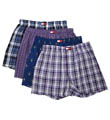 Woven Boxers - 4 Pack Image