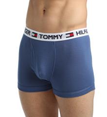 Tommy Hilfiger 09T0767 100% Cotton Basics Trunks - 4 Pack