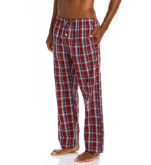 Tommy Hilfiger Poplin Plaid Sleep Pant 09T1037